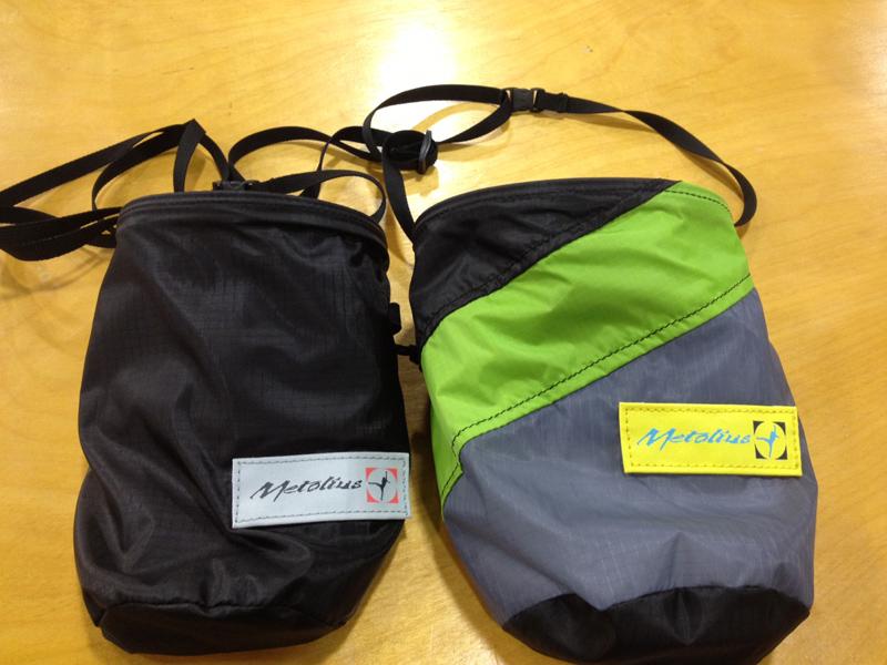 The Metolius Ultralight Chalk Bag.