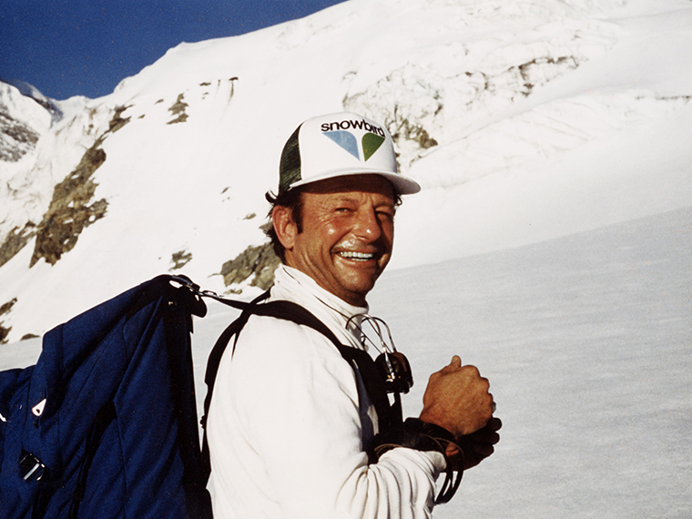 Dick Bass. Photo courtesy of Snowbird Ski and Summer Resort.