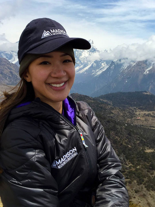Marisa Eve Girawong. Photo courtesy of Madison Mountaineering.