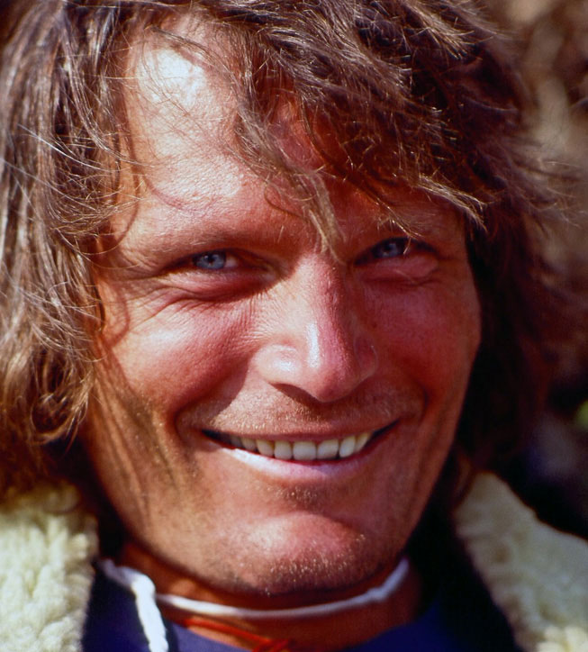 Kim during the 1979 American-Nepalese Gaurishankar Expedition. Photo courtesy of John Roskelley.